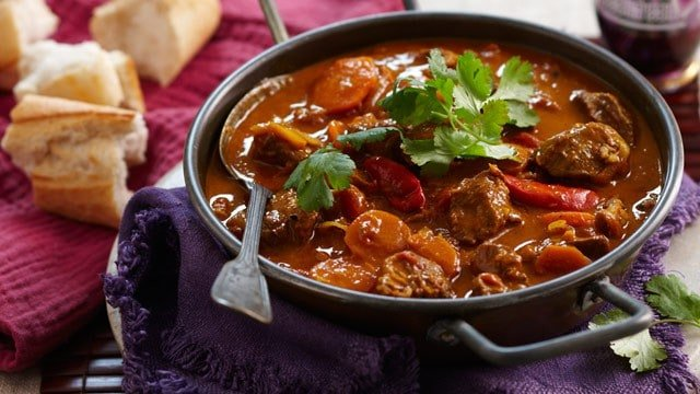 Curried Beef with Vegetables