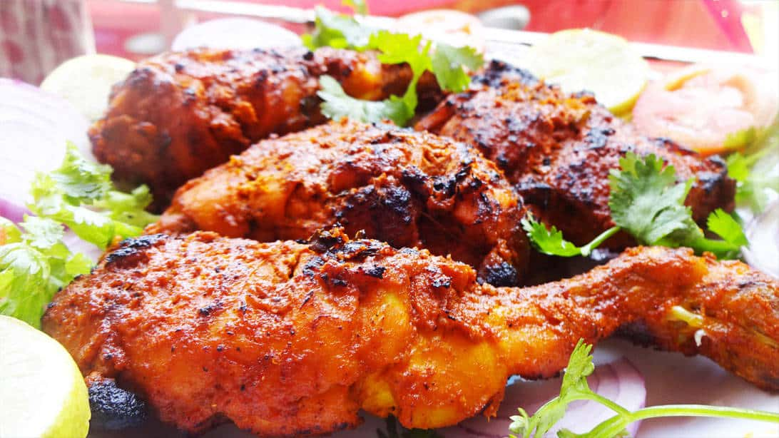 Grilled Tanndoori Chicken