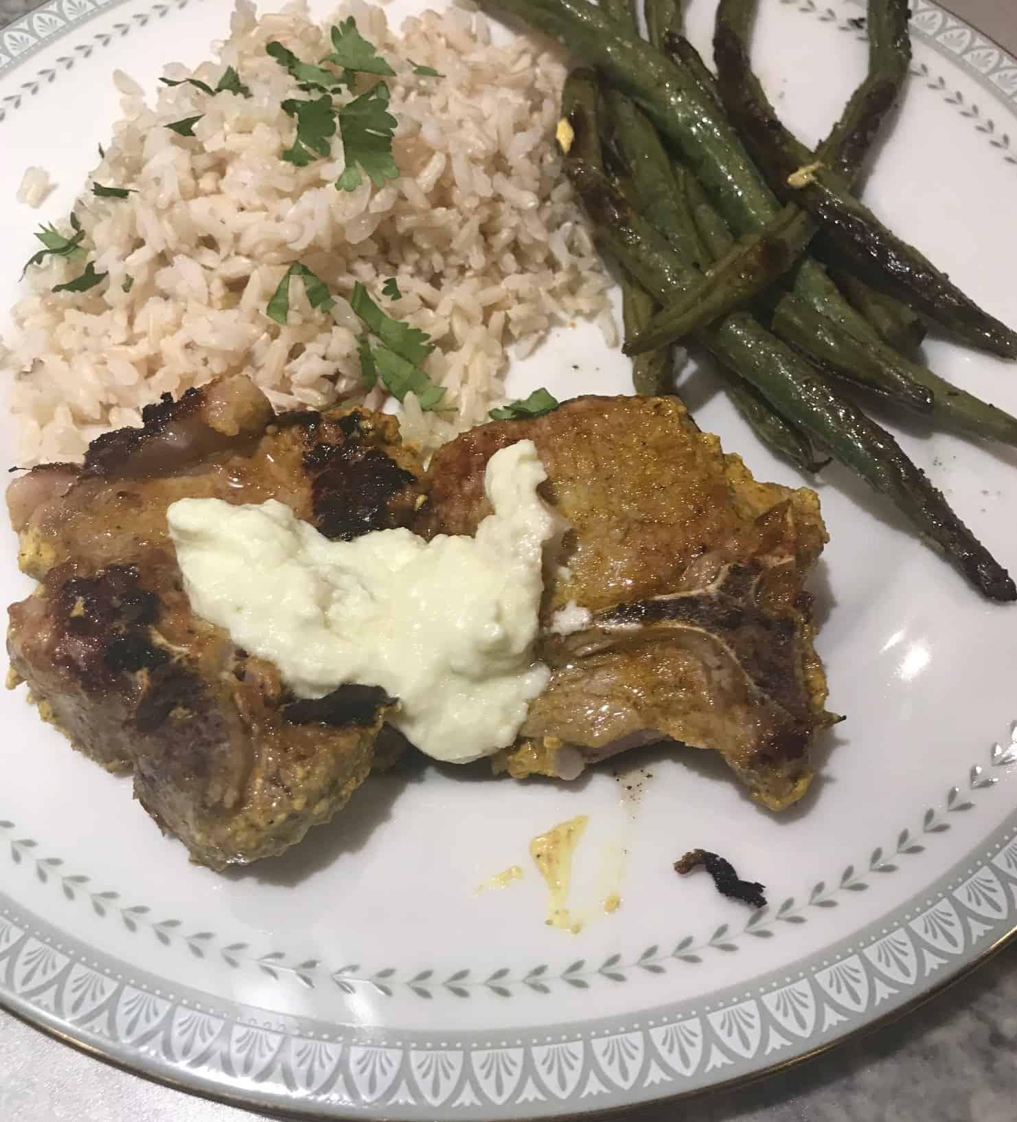 Vadouvan Lamb Chops