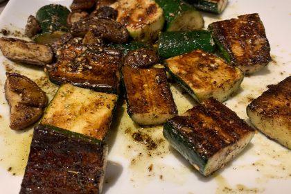 Zucchini with Za'atar