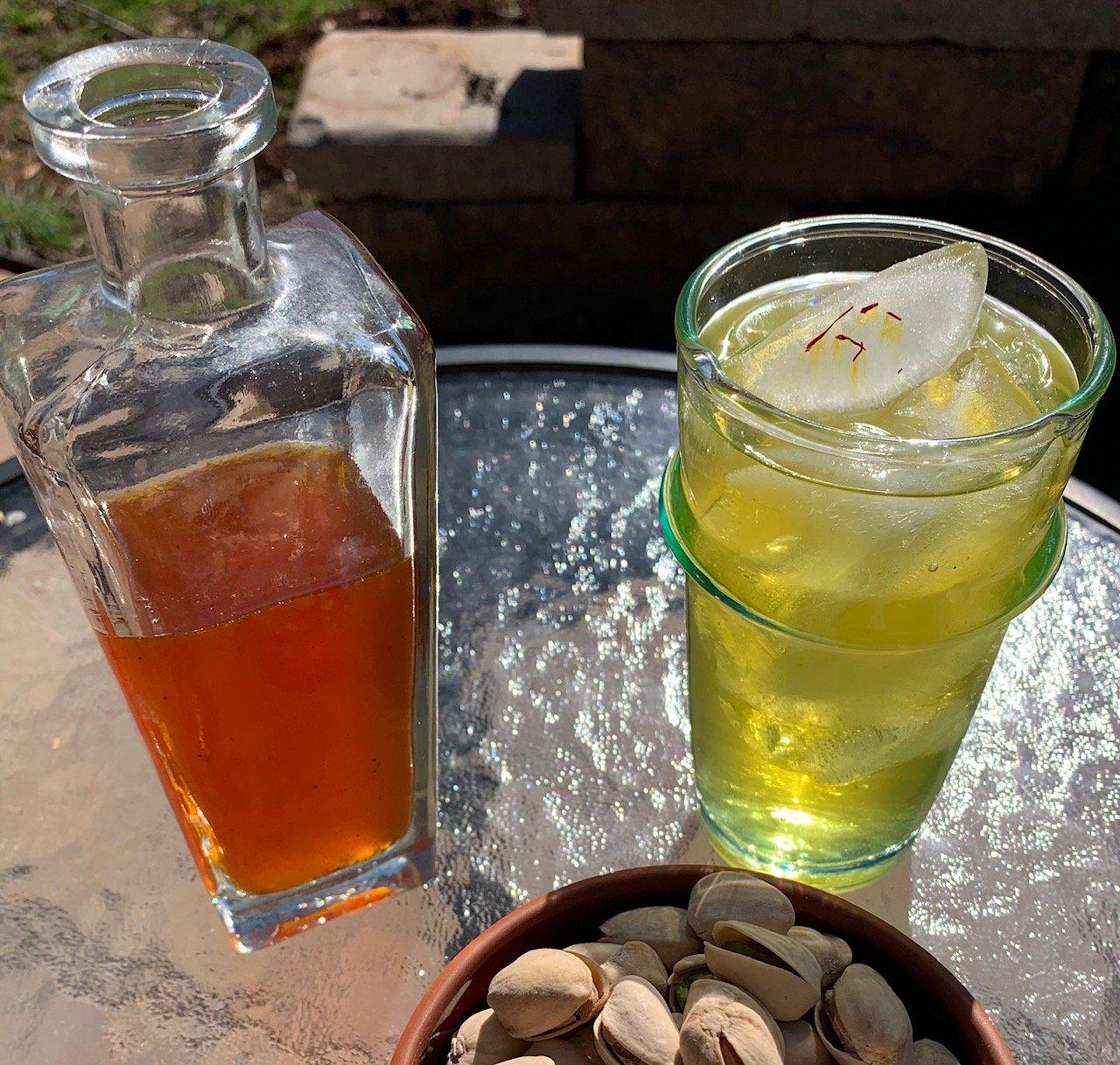 Sumac and Saffron Spritzer